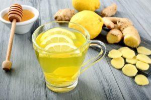 Buvez avec de la menthe et du gingembre qui active votre métabolisme