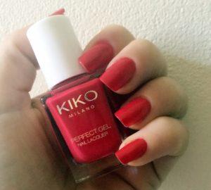 Vernis à ongles KIKO Perfect GEL Duo: la collection